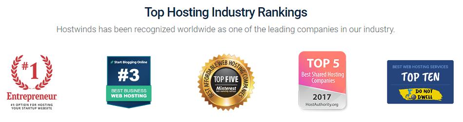 Hostwinds-Rankings